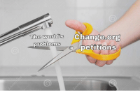 Memes, Change, and 🤖: The world's  Change.org  0  problems  oetitions  0 Via 8Memes