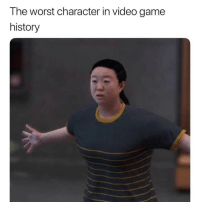 Sports, The Worst, and Game: The worst character in video game  history If you know you know 😂