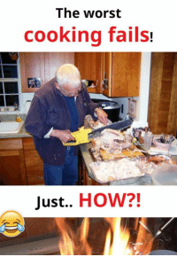 Read the full story here 👉 http://1jux.com/-Hz1j: The worst  cooking fails!  Just..  HOW?! Read the full story here 👉 http://1jux.com/-Hz1j