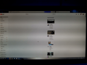 The youtube home screen forked up: The youtube home screen forked up
