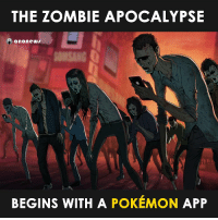 More Pokemon GO hate on Facebook.: THE ZOMBIE APOCALYPSE  anonews  BEGINS WITH A POKEMON APP More Pokemon GO hate on Facebook.