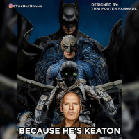 What is your favorite role played by Michael Keaton?: @@THEBAT BRAND  DESIGNED BY:  THAI POSTER FANMADE  BECAUSE HE'S KEATON What is your favorite role played by Michael Keaton?