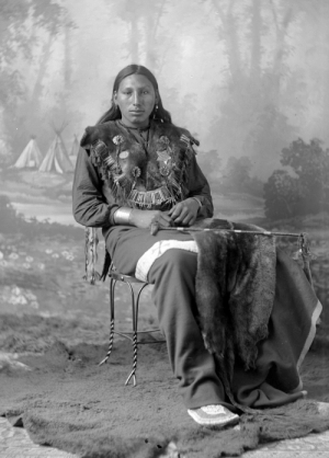 thebigkelu: Dakota Man Seated - Barry - 1880s: thebigkelu: Dakota Man Seated - Barry - 1880s