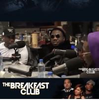 Club, Memes, and Migos: THEBREAKEAST  THEBREAKEAST  CLUB  LIYE IOUR Quavo says Takeoff is the best lyricist in Migos...do y'all agree? 🎤🤔 @BreakfastClubAM @Migos WSHH