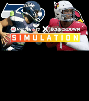 .@thecheckdown & @EAMaddenNFL are simulating the entire 2020 season!  Watch highlights from the @Seahawks vs. @AZCardinals Week 7 matchup. https://t.co/1DTkAsEuQX: .@thecheckdown & @EAMaddenNFL are simulating the entire 2020 season!  Watch highlights from the @Seahawks vs. @AZCardinals Week 7 matchup. https://t.co/1DTkAsEuQX