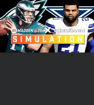 .@thecheckdown & @EAMaddenNFL are simulating the entire 2020 season!  Watch highlights from the @Eagles vs. @dallascowboys Week 16 matchup. https://t.co/VaNtFsWXPV: .@thecheckdown & @EAMaddenNFL are simulating the entire 2020 season!  Watch highlights from the @Eagles vs. @dallascowboys Week 16 matchup. https://t.co/VaNtFsWXPV