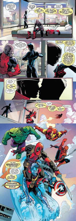 theclawedking: why-i-love-comics:   Deadpool: The End #1 (2020) written by Joe Kellyart by Mike Hawthorne, Victor Olazaba, & Ruth Redmond    Niiiiiiiiiiiiiiice : theclawedking: why-i-love-comics:   Deadpool: The End #1 (2020) written by Joe Kellyart by Mike Hawthorne, Victor Olazaba, & Ruth Redmond    Niiiiiiiiiiiiiiice