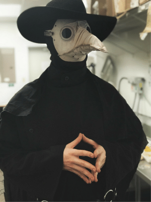 Tumblr, Work, and Blog: thecomfyknight: iguanaparrots:   thecomfyknight: It was costume day at work today Though knoweth I hadst to doth it to them   This is my favorite addition to any post I've ever made