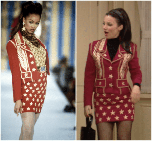 thefinenanny:Tyra Banks x Fran Fine in Todd Oldham: thefinenanny:Tyra Banks x Fran Fine in Todd Oldham