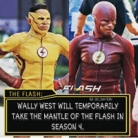 Batman, Definitely, and Memes: TheFlash7  THE FLASH:  IGI DC NATION  WALLY WEST WILL TEMPORARILY  TAKE THE MANTLE OF THE FLASH IN  SEASON Y I mean it's temporary but it's definitely not earned but i also understand the scenario so yeah for couple episodes that's fine. dc dccomics dceu dcu dcrebirth dcnation dcextendeduniverse batman superman manofsteel thedarkknight wonderwoman justiceleague cyborg aquaman martianmanhunter greenlantern theflash greenarrow suicidesquad thejoker harleyquinn comics injusticegodsamongus
