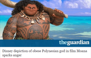 Disney, God, and Love: theguardian  Disney depiction of obese Polynesian god in flm Moana  sparks anger toytowns:  slagartehfox:  thebuttkingpost:  boss-hoody:  I don't think these people have ever seen an obese person before. This character doesn't look fat he looks like a wall of muscle  I feel like people don't know why there's a difference between body building contests and strongest man in the world competitions.  for reference, Body builder: Strongest man in the world contestant:  To elaberate: Body Builders specifically build for looks, actual practicality, or real strength be damned.   Strongmen just try and build as much functional muscle as they can with no regard to how it looks. That means huge masses of untoned muscle built for power and nothing but. That's old farmers and other people that have done hard labor for years to build up muscle tend to be bulky/fat and built like brick walls instead of chiseled and toned.   I love that he's good and fat because a lot of people equate fat with evil, badness, greed, gluttonyanyway it's nice to see a strong god that's fat that doesn't represent greed or partying down like Dionysus and Bacchus