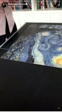 Instagram, Hugh Jackman, and Vincent Van Gogh: thehughjackman  was live 10h ago I CANT BREATHE HUGH JACKMAN REALLY DID AN INSTAGRAM LIVE TO SHOW HE FINALLY FINISHED HIS VINCENT VAN GOGH PUZZLE ONLY TO DESTROY IT AND HAVE A MENTAL BREAKDOWN RIGHT AFTER https://t.co/vIHm8PfI9C