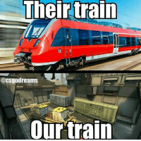 Memes, Cubs, and Train: Their train  @CSgodreams  our train I like those kind of meme's wbu? You can follow my personal acc if you want @eric.cub ^^ Created by @csgodreams DM for shotouts-Sponsor —————————————————— 📍Meme Acc: @memes_lnc📍 ⚔Knive's @rl_knives⚔ 💯Designer @slaziieart 💯 😂Meme's @dvmems 😂 💡Tips&Tricks @csgotricks 💡 🔰Partner @__csgoskins__🔰 ————————————————— csgo counterstrike Counter counterstrikeglobaloffensive terrorist memes meme russian gaben gag gamingtimee