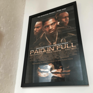 the american dream: ...Their way.  The American Dream  fs  Damon Dash and Roc-A-Fella Films Present  PAID IN FULL  MEKHI PHIFER WOOD HARRIS CAM'RON  Screenplay by Matthew Cirulnic  k and Thulani Davis