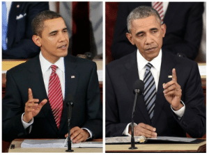 thekingsvoice:  Obama at his first State of the Union Address and his last one : thekingsvoice:  Obama at his first State of the Union Address and his last one