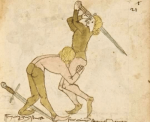 Fucking, Period, and Tumblr: theladytrickster:  the-heavy-metal-viking:  liquidcoma:  the best defense is a good offense   j UST SUCK HIS FUCKING D ICK   The more I find out about the medieval period the more gay and ridiculous it gets