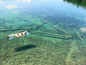 Anaconda, Beautiful, and Friday: theladytrickster: thorinobsessed:  monumentofallyoursins:  psychoticrambling:  falling-through-the-time-vortex:  kamachameleon:  k-hiq:  skylark11:  a lake in montana whose water is so clear it appears shallow, when really its over 100 feet deep!  this is actually kinda terrifying because what if someone doesn't know how deep it is, so they go diving and try to swim to the bottom, but they always seem just out of reach, so they just keep swimming… and when they realize something's wrong it's too late  Imagine seeing a body at the bottom….  tumblr has the ability to turn everything beautiful into something terrifying   What if you see a skeleton at the bottom of what appears to be a shallow part of the lake. As you dive down to check them out you notice the water is deeper than you originally thought. Much deeper. You come to realize that there is no way these remains could be human, you're not even half-way down and already the skull already looks bigger than your car   This started so tranquil and then it turned into Friday the 13th   I love it tho
