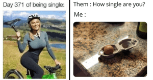 memehumor:  Memes And Tweets In 'Celebration' Of Singles Day: Them How single are you?  Day 371 of being single:  Ме:  OLIV  OIL  @gay dumpster memehumor:  Memes And Tweets In 'Celebration' Of Singles Day