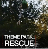 Memes, New York, and Girl: THEME PARK  RESCUE 27 JUN: Footage shows the moment a 14-year-old girl was caught after falling off a theme park ride in the US. Matthew Howard Sr was at the Six Flags theme park in New York State with his daughter when he joined the effort to save her. The girl suffered no serious injuries. Six Flags has closed the ride while it investigates. SixFlags Rescue Hero GondolaRide BBCShorts BBCNews @BBCNews