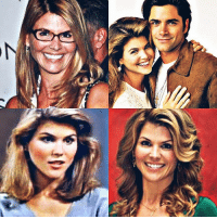 Then and now; Aunt Becky - Rebecca Donaldson Katsopolis <3 . . auntbecky fullhouse fullerhouse rebeccadonaldsonkatsopolis loriloughlin thenandnow