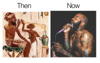 Then  Now Renowned Egyptologist and archeologist Anthony Fantano discovers key indications that MC Ride never dies