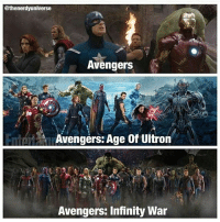 Haha! This is so true 😋: @thenerdyuniverse  Avengers  Avengers: Age of Ultron  Avengers: Infinity War Haha! This is so true 😋