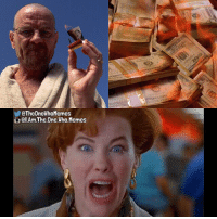 DM me your Breaking Bad meme ideas! You'll get credit and a shoutout if I use it. - { breakingbad heisenberg homealone danglyones iamtheonewhomemes}: @TheOne WhoMemes  QI.Ama The One.Who. Memes DM me your Breaking Bad meme ideas! You'll get credit and a shoutout if I use it. - { breakingbad heisenberg homealone danglyones iamtheonewhomemes}