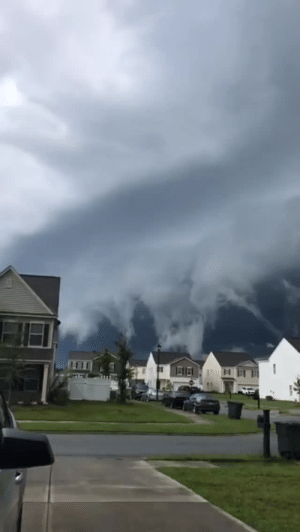 Target, Tumblr, and Blog: thepowersofthemind:  sixpenceee:  Clouds look like incoming tsunami. From here  Earth is really mad at us