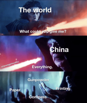 There's some good things from China: There's some good things from China