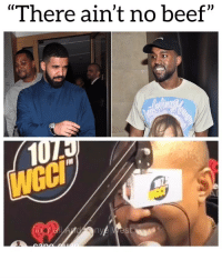 """Beef, Drake, and Friends: """"There ain't no beef"""" kanyewest there is no beef between him and Drake Follow @bars for more ➡️ DM 5 FRIENDS"""