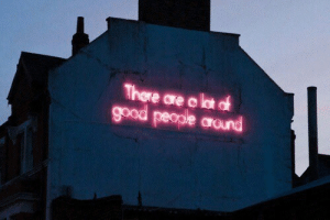 Good, Good People, and People: There are o lst of  good people arond