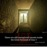 pyramids of giza: There are still unexplored tunnels inside  the Great Pyramid of Giza  Weird World
