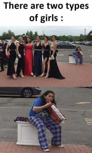 Girls, Memes, and Photos: There are two types  of girls Two Types Of Girls Memes Will Make Your Day (48 Photos)-37