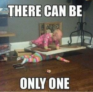 Sibling rivalry at its worst via /r/funny https://ift.tt/2QcI8nQ: THERE CAN BE  ONLY ONE Sibling rivalry at its worst via /r/funny https://ift.tt/2QcI8nQ