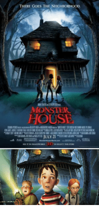 Bitch, Monster, and Movies: THERE GOES THE NEICHBORHOOD  MONSTER  HOUSE bitch no scary movies today has shit on Monster House https://t.co/YdkpNAm4x0