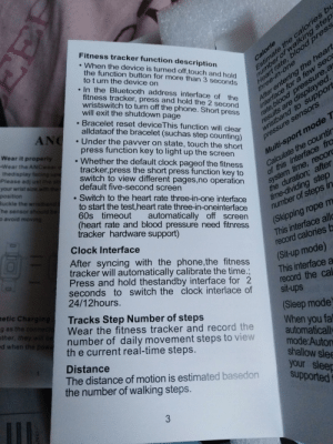 There is a ton of errors in this smartwatch manual.: There is a ton of errors in this smartwatch manual.