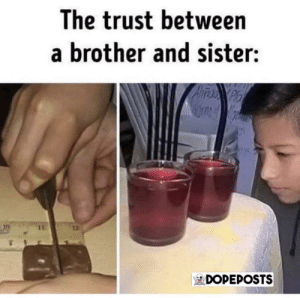 There is no trust: There is no trust