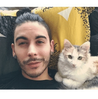 There is only one cure for the SundayScaries: Cuddling with my bestie in bed. 🙌❤️🐱 Bae KatyPurry KittySelfie StaringIntoYourSoul 👀 CuddleBuddies SnugLife RelationshipGoals FurBaby CatLady 💃 SundayNightAnxiety TherapyPet MoreXanaxPlease 🙋 LoveThisPussy MeowBitches WhiskerGameOnPoint 👌 BrowsOnFleek Manbun AllAboutThatBun PatchyFacialHairDontCare KatyLovesIt 💁 AndYoureGonnaHearMeRoar LastFridayNight WeekendIsAlmostOver HoldMe BrosBeingBasic via @manbuns_and_cats @samurai_phil: There is only one cure for the SundayScaries: Cuddling with my bestie in bed. 🙌❤️🐱 Bae KatyPurry KittySelfie StaringIntoYourSoul 👀 CuddleBuddies SnugLife RelationshipGoals FurBaby CatLady 💃 SundayNightAnxiety TherapyPet MoreXanaxPlease 🙋 LoveThisPussy MeowBitches WhiskerGameOnPoint 👌 BrowsOnFleek Manbun AllAboutThatBun PatchyFacialHairDontCare KatyLovesIt 💁 AndYoureGonnaHearMeRoar LastFridayNight WeekendIsAlmostOver HoldMe BrosBeingBasic via @manbuns_and_cats @samurai_phil