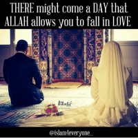 There might come a day that Allah allows you to fall in love, and when you do you'll be unable to fall out of it. And so he'll put it into your heart to pursue her, and you'll do whatever it takes to have her. Then one day you'll go to her father and ask for her hand, and Allah will soften her father's heart so that he'll allow the union between you. You will marry her, and realize how lucky you are, and that despite her flaws you have been given the perfect complement to yourself. You can see in her eyes everything good you want for yourself, and you realize that every night that good lies beside you. Marriage will be difficult, she'll be difficult, but she'll be something you'll pursue the best in, always thinking of her first, considering how she feels, and determined to treat her better than any other man on earth could have. And so you two will grow old together, and if you did things right you'll fall in love with her again and again and again each day, but only if you realize that love isn't something you find but something you create. It's something that abounds from the realization that you are both flawed, the realization that you're both frayed, and that your union works best when following Allah subhanahu wa ta'laa's design. You see his design and see that Allah braids you two together, and despite your flaws and your fraying, you're made stronger than you two ever were separate You'll realize that your families should be there for you, that being patient and not rushing is a key to success, and that putting Allah subhanahu wa ta'laa before each other is most important. Then there will come a day when you realize that losing her would be worse than death itself, and so you hope and pray to Allah Subhanahu Wa Ta'ala that you pass away before she does, because otherwise you know you would live the rest of your life dying from the poison of your broken heart. So you pray and pray and pray that Allah Subhanahu Wa Ta'ala bring you home, before he brings her, 