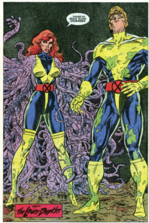 Jean Grey with tentacles: THERE VE  BEEN SOME  CHANGES  NEXT  The Lrier Deyths Jean Grey with tentacles