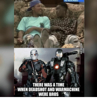 Throwback to one of the greatest shows ever 😂: THERE WAS A TIME  WHEN DEADSHOT AND WARMACHINE  WERE BROS Throwback to one of the greatest shows ever 😂
