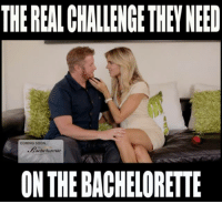 A CHALLENGE THEY SHOULD HAVE HAD ON THE BACHELORETTE: THEREALCHALLENGETHEN NEED  COMING SOON.  ON THE BACHELORETTE A CHALLENGE THEY SHOULD HAVE HAD ON THE BACHELORETTE