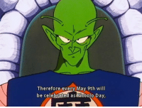 Piccolo, Celebrated, and May: Therefore every May 9th will  be celebrated as Piccolo Day,