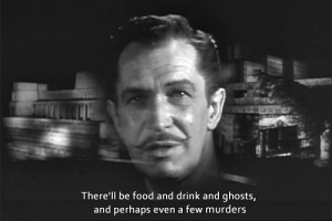 Food, Ghosts, and Perhaps: There'll be food and drink and ghosts,  and perhaps even a few murders