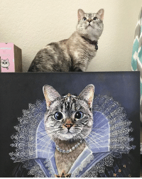 "@therenaissancepet just made my portrait as a princess! For a 10% discount on a renaissance portrait of your own pet visit www.therenaissancepet.com & use coupon code princessNALA They are doing a GIVEAWAY too: Prizes: 1st place - Free 10x10"" Canvas Print of this Princess Nala portrait 2nd place - Free Digital Portrait of your own pet! 3rd place - 50% discount off your pet portrait order ➖➖➖➖➖➖➖➖➖➖➖➖➖➖➖➖ What you have to do: 1. Follow @therenaissancepet 2. Post a picture of your pet with the caption ""This is my entry for the pet portrait giveaway by @therenaissancepet"" and tag renaissancepetgiveaway Instagramcontest Instagramgiveaway giveaway petcontest petportrait 3. Tag 3 friends in your post who might also want to win a portrait ➖➖➖➖➖➖➖➖➖➖➖➖➖➖➖➖ Good luck! The winners will be announced July 15th: @therenaissancepet just made my portrait as a princess! For a 10% discount on a renaissance portrait of your own pet visit www.therenaissancepet.com & use coupon code princessNALA They are doing a GIVEAWAY too: Prizes: 1st place - Free 10x10"" Canvas Print of this Princess Nala portrait 2nd place - Free Digital Portrait of your own pet! 3rd place - 50% discount off your pet portrait order ➖➖➖➖➖➖➖➖➖➖➖➖➖➖➖➖ What you have to do: 1. Follow @therenaissancepet 2. Post a picture of your pet with the caption ""This is my entry for the pet portrait giveaway by @therenaissancepet"" and tag renaissancepetgiveaway Instagramcontest Instagramgiveaway giveaway petcontest petportrait 3. Tag 3 friends in your post who might also want to win a portrait ➖➖➖➖➖➖➖➖➖➖➖➖➖➖➖➖ Good luck! The winners will be announced July 15th"