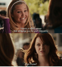 Memes, Power, and Easy A: There's a higher power  that w  dge you for your indecency  ruise? Easy A