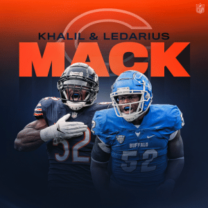 There's a new Mack in Chi-Town.  Khalil's brother LeDarius is joining the @ChicagoBears as an UDFA. @FiftyDeuce @leemack52 https://t.co/svFPzFnzl0: There's a new Mack in Chi-Town.  Khalil's brother LeDarius is joining the @ChicagoBears as an UDFA. @FiftyDeuce @leemack52 https://t.co/svFPzFnzl0