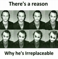 HeathLedger TheJoker Why so serious 😈 FanForever: There's a reason  Why he's irreplaceable HeathLedger TheJoker Why so serious 😈 FanForever