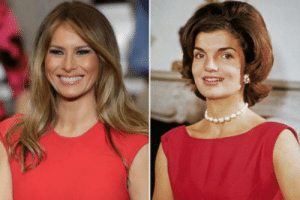 """Memes, Nudes, and Run: There's a several pictures of Melania and Jackie going around after Dumbfuckitus said Melania is the new Jackie. Most of these memes have the nudes of Melania in them talking about how she is """"trash"""" of some kind.  Look, there isn't anyone, even those old decrepit Republican philistines who believe Trump's bullshit who thinks Melania is the new Jackie. Melania despite her flaws, didn't ask for the shitdemon she married to run for president. I am not down with demeaning women under any circumstance.  All of you who are participating in this mockery should mock Trump and not use Melania's nudes to compare her to Jackie. Shaming women for being nude is disgusting behavior by anyone and even more so for women to do it because men see you doing it and think that it's okay if they do it too and it isn't okay.  Jackie certainly wouldn't condone abusing another first lady because she was a classy woman. Remember how she reacted when a photographer got pictures of her nude?   Please stop it.  Thanks."""