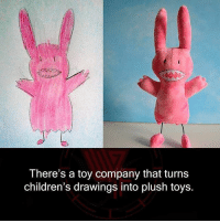 Memes, 🤖, and Plush: There's a toy company that turns  children's drawings into plush toys.